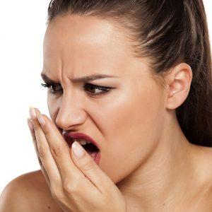 بد بویی دهان